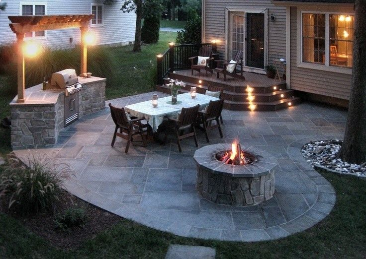Attractive Would Be An Awesome Back Yard! Mike, You Need A BBQ With Loads Of Table  Space! :)