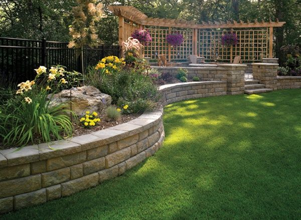 24+ Inspiring Ideas for Your Retaining Wall Project