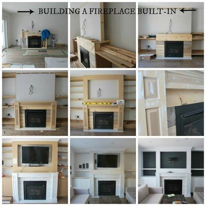 Now That You Have Seen How We Re Worked The Space In Our New Open Concept  Main Floor, Letu0027s Get To That Living Room. We Knew We Wanted A Fireplace,  ...