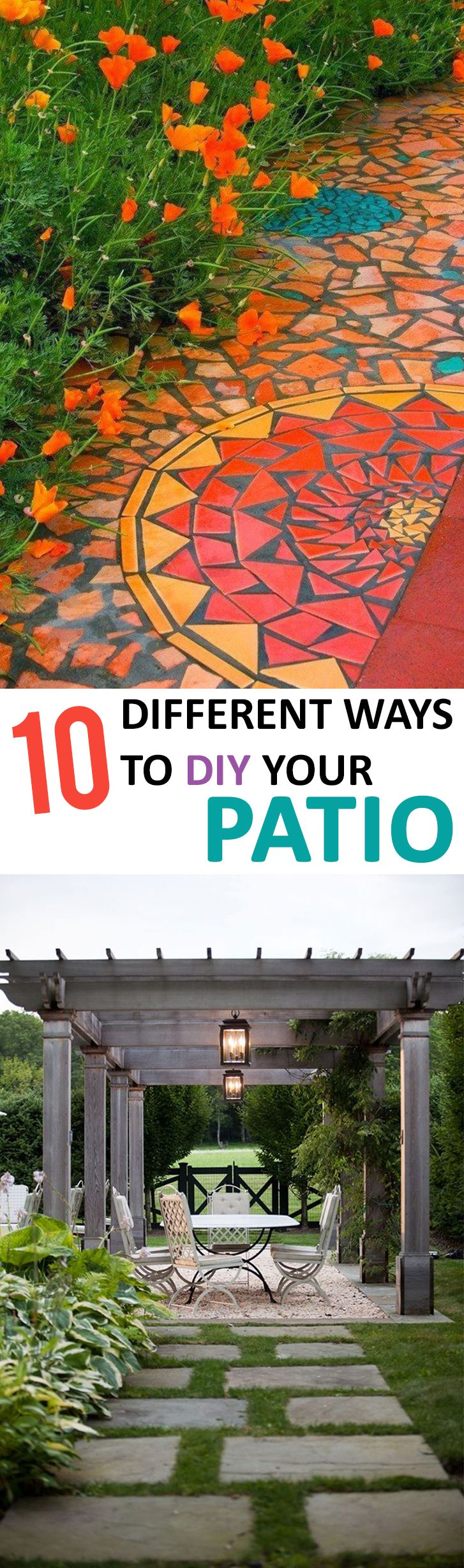 24 Awesome DIY Patio Projects