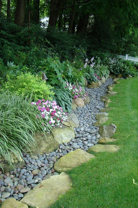 Drainage Solutions Tend To Be Generalized As Being Unattractive But  Necessary. But With These 11 Inspiring Solutions, Your Landscape Can Stay  Beautiful ...