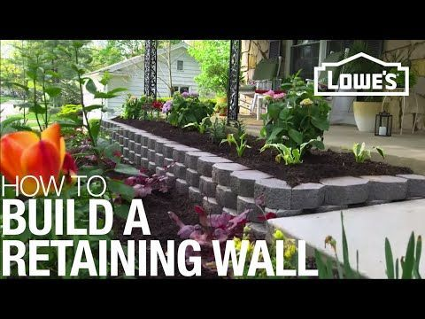 DIY Retaining Walls; Gorgeous Designs, P... Gorgeous Retaining Wall Projects
