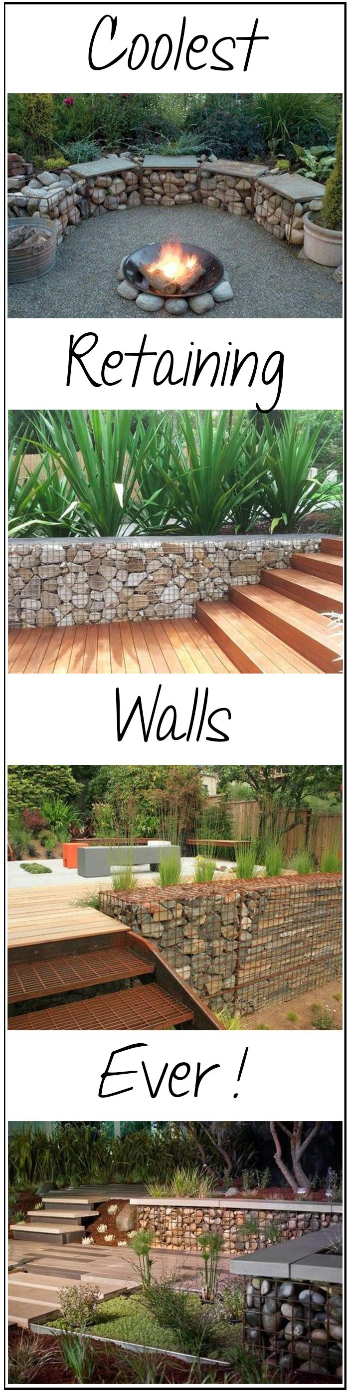 24 awesome diy retaining wall projects coolest retaining walls ever pin solutioingenieria Gallery