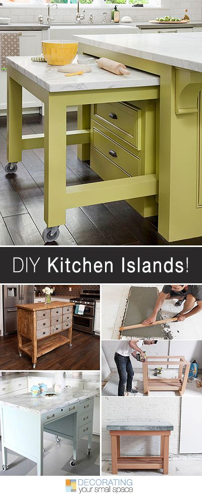 24 awesome diy kitchen projects i know mine does extra points for wheels and built in storage our first post on diy kitchen islands was so read more solutioingenieria Choice Image