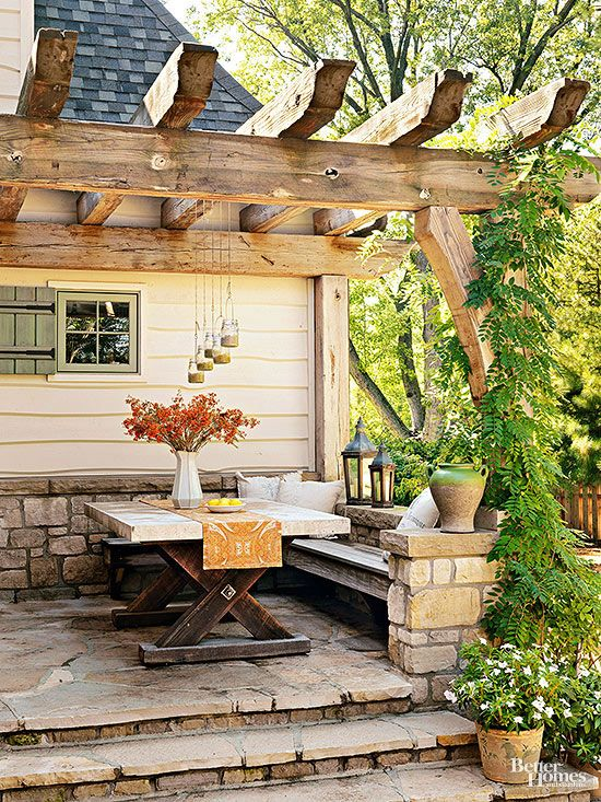Make The Most Out Of A Petite Patio With These Creative, Space Stretching  Tips And Design Ideas.