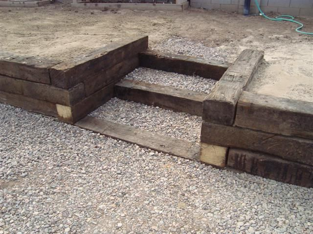 Building Retaining Wall With Railroad Ties | Tyres2c