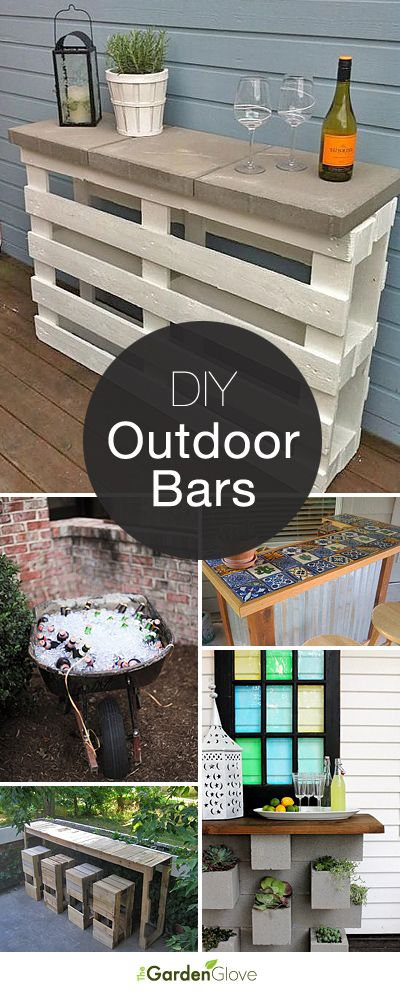 And If You Donu0027t Prefer To Serve Alcohol, Use Your DIY Bar To Serve The Best  Iced Tea Around! Check Out These Outdoor Bar Ideas!