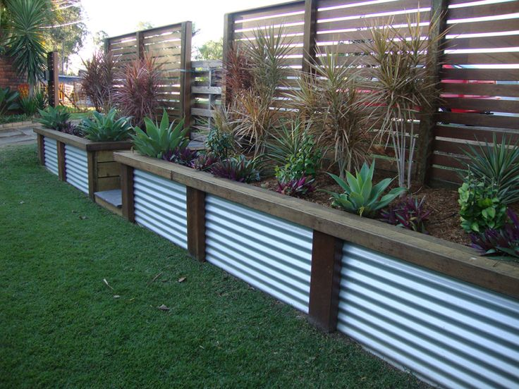 Interesting Affordable Great Retaining Wall Ideas    Too Industrial For The  Amount Of Walls We Have?