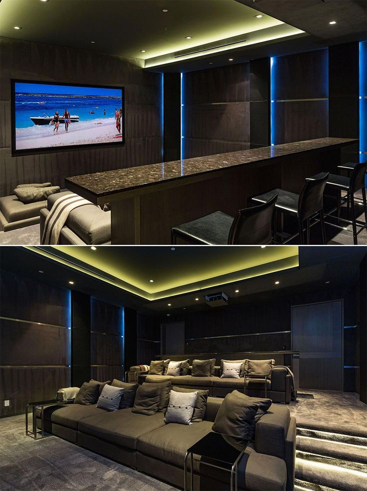 21+ Basement Home Theater Design Ideas (... Basement Home Theater   Asement  House Cinemas Are Significantly Usual Nowadays   They Give Significant Home  ...