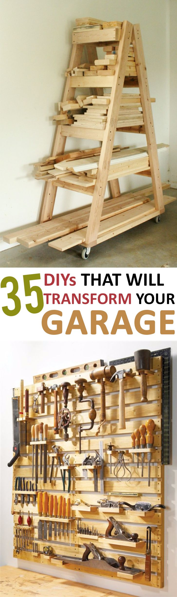 everything organization and brilliant hang projects pin tips ideas garage diy