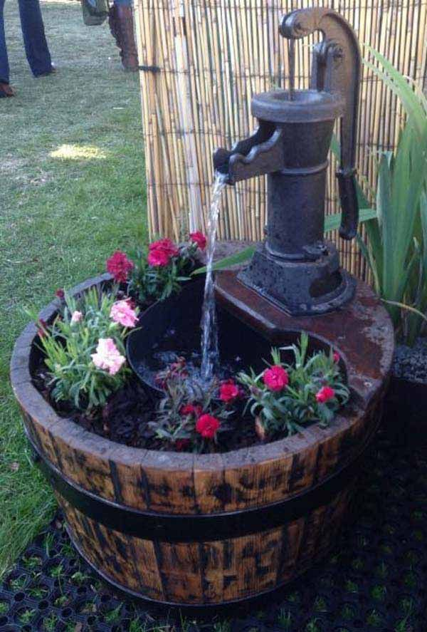 24 awesome diy water feature projects days are getting greener around us nestling more life and more pulsebeautify your backyard with a charming diy project low budget diy mini ponds in pots solutioingenieria Gallery