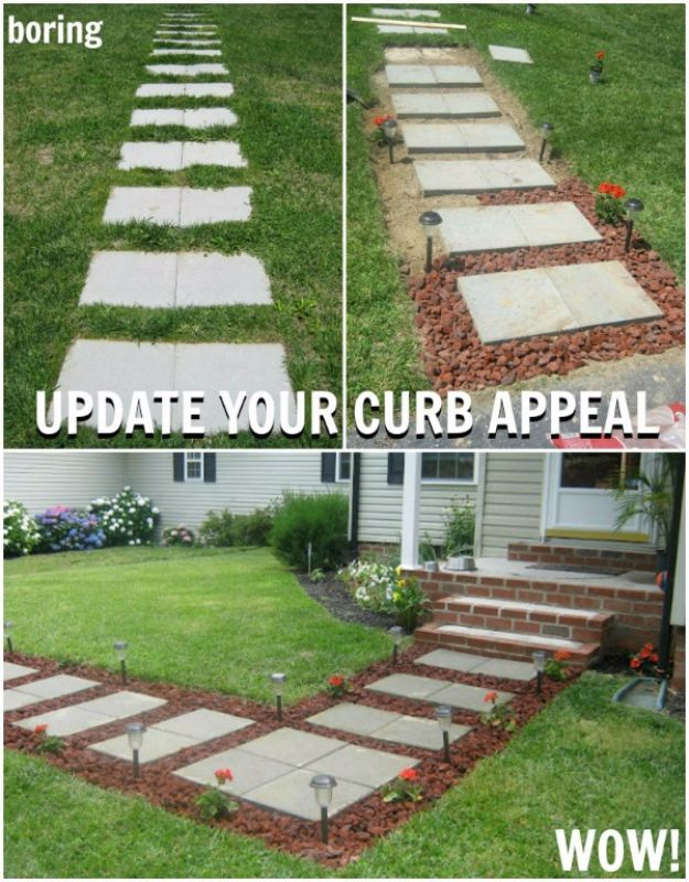 24 awesome diy driveway projects 42 diy ideas to increase curb appeal looking to upgrade the way your house looks from the street they say first impressions are everything and this holds solutioingenieria Images