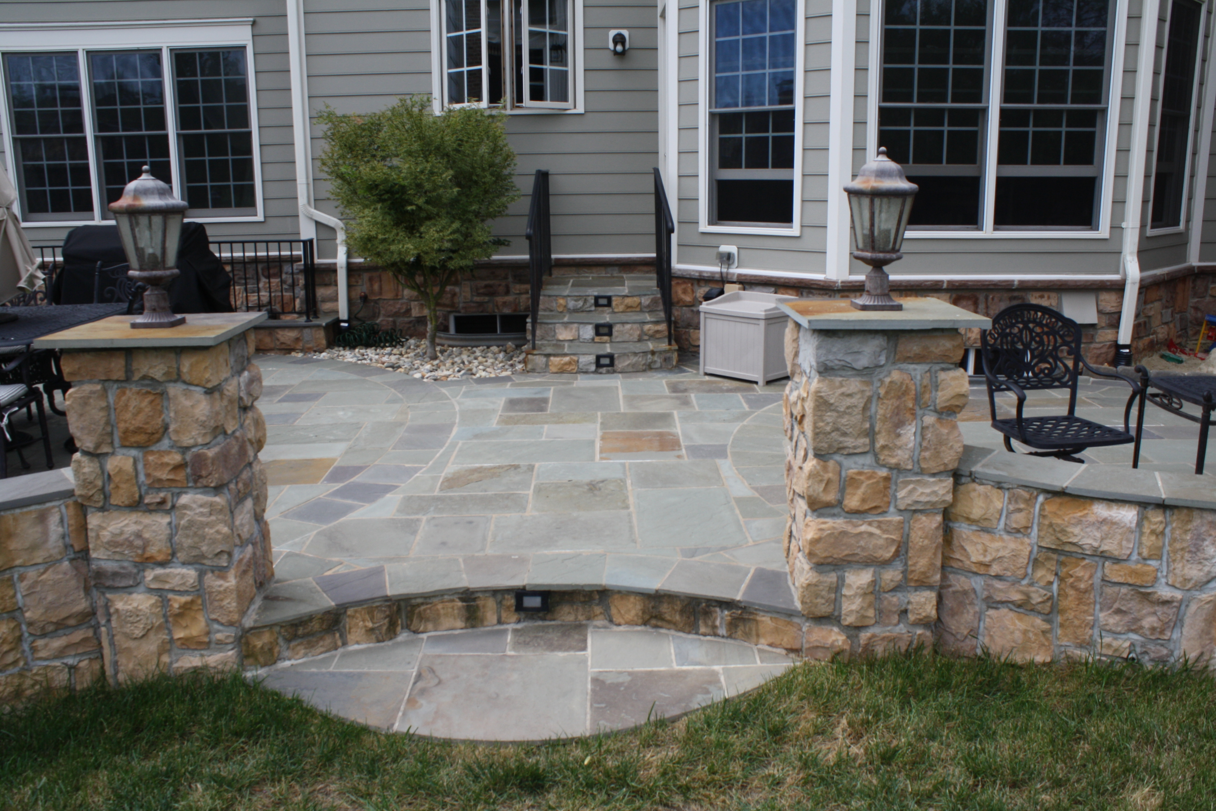 of what patios polymeric slate between stone or dust sand to joints patio flagstone luxury put