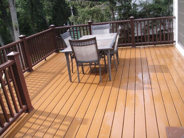 Light composite deck with dark railing portfolio phoenix home light composite deck with dark railing aloadofball Gallery