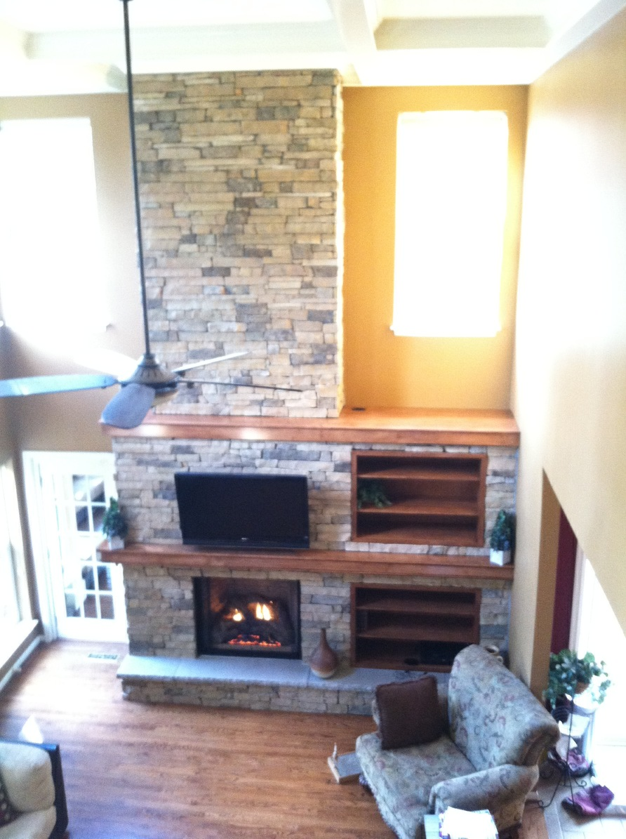 Novas top fireplace contractors get a free estimate online now indoor stone fireplace with double mantle solutioingenieria Image collections