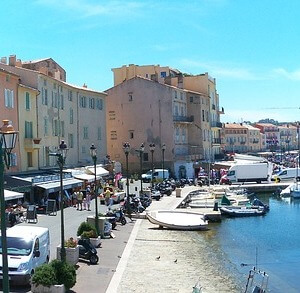 Rental Car Station Saint Tropez France