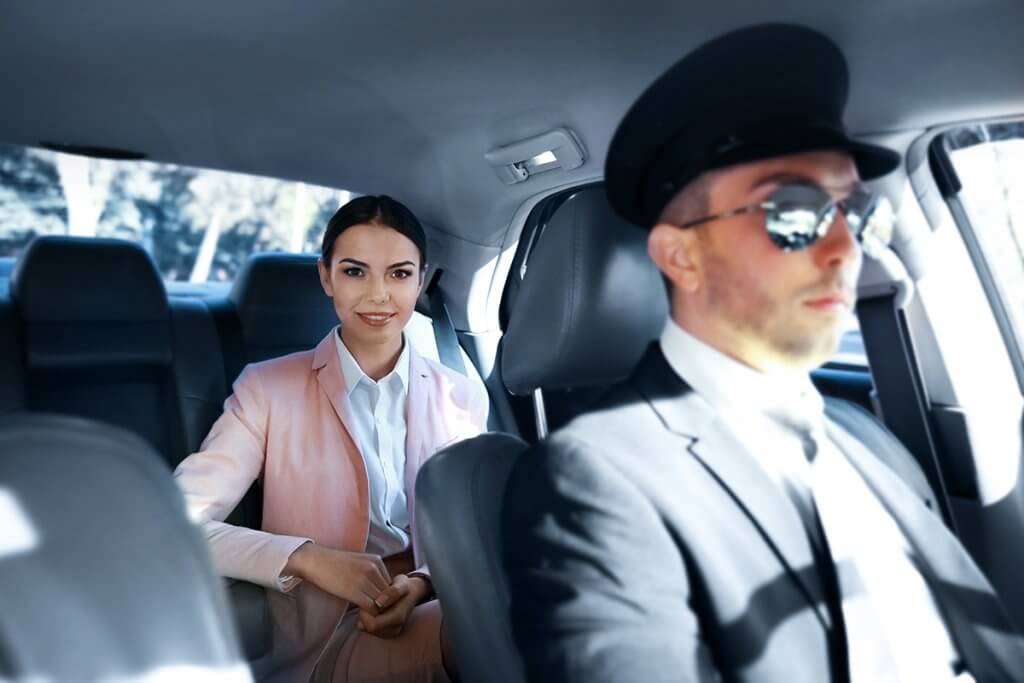 Limousine and Chauffeur Service Driver for all comfort