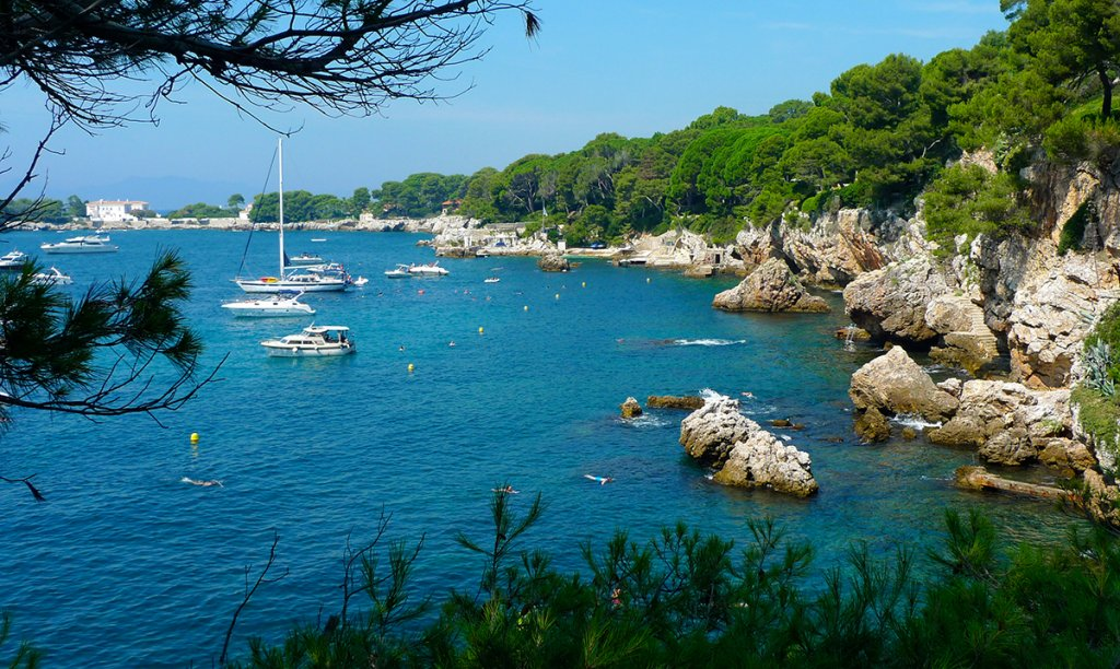 Bay of Cap d'Antibes French Riviera