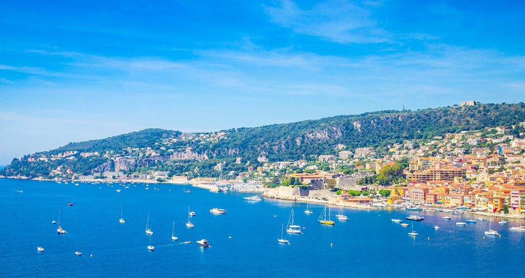 Coast of the French Riviera