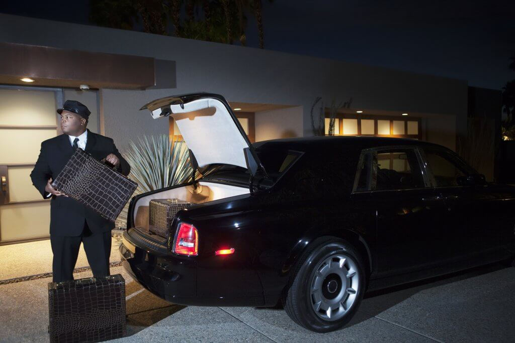 Rolls Royce Chauffeur Service Airport Limousine Airfield Private Jet Shuttle