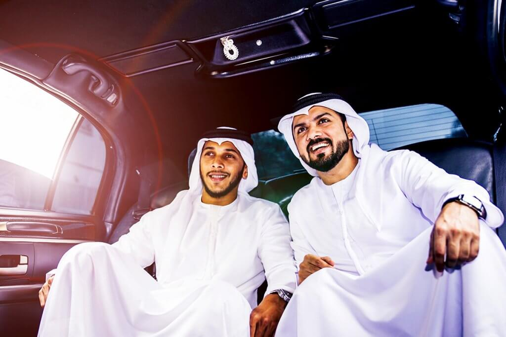 Chauffeur and Limousine Service for Arabian Sheiks