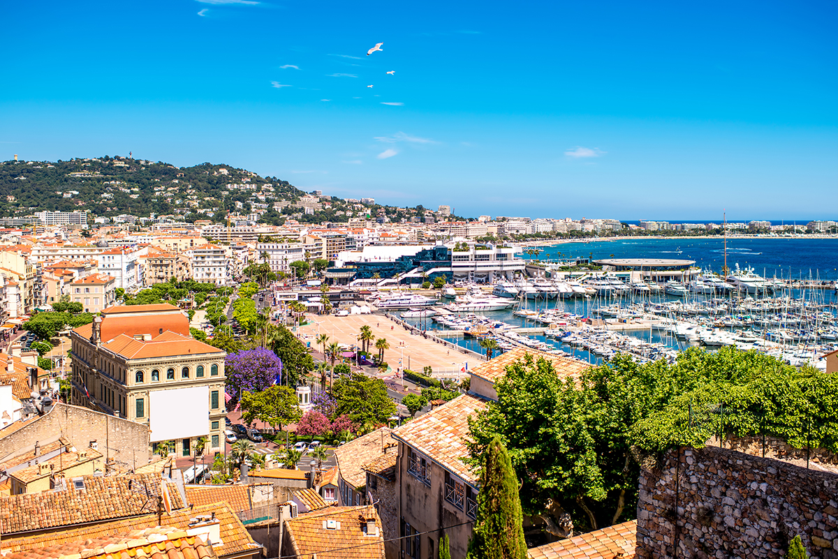 Côte d'Azur French Riviera Cannes