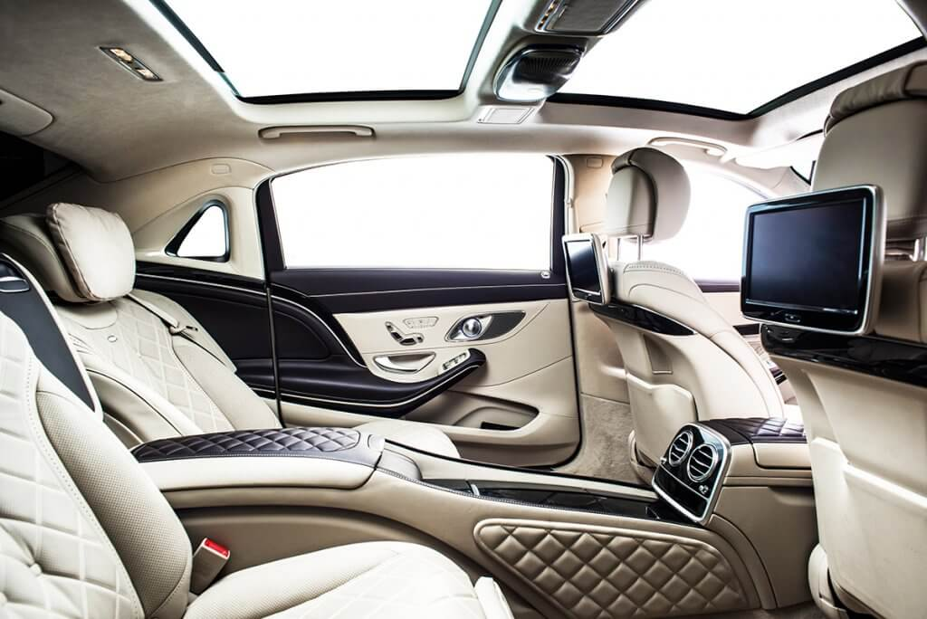 Mercedes Maybach S600 Limousine Interior for VIP clients