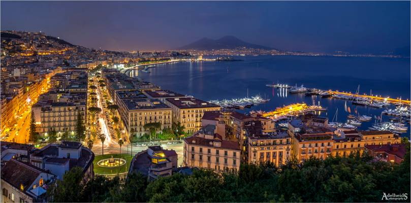 Napoli in Blue