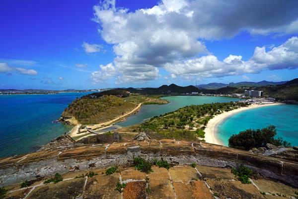 Antigua from Fort Barrington