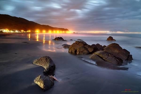 Waiao Beach at Sunrise, Yilan County │ May. 15, 2016