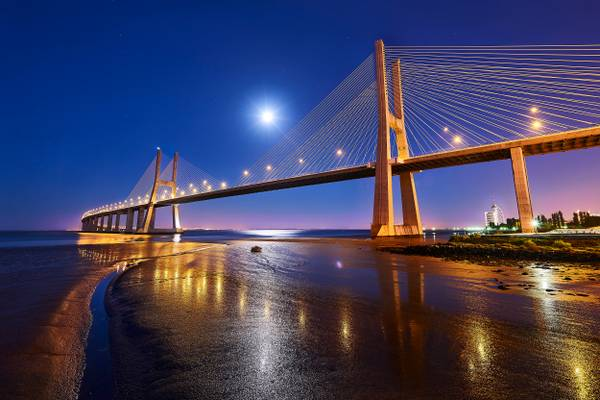 Ponte Vasco da Gama - Lisbon, Portugal