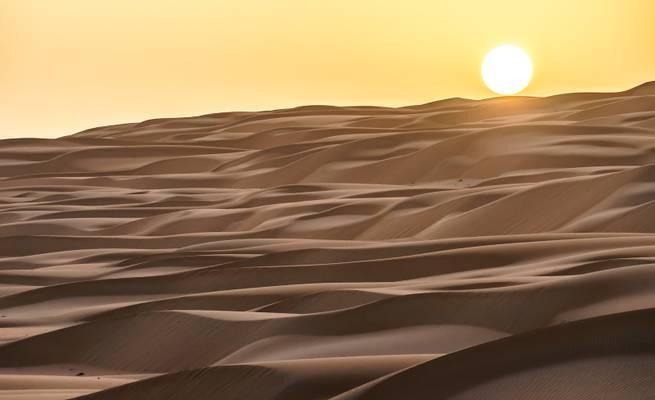 Highway durch die Wüste