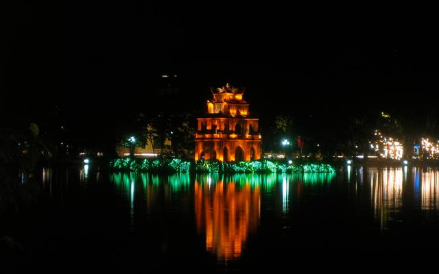 Turtle tower, Hanoi, Vietnam - Hà Nội, Việt Nam