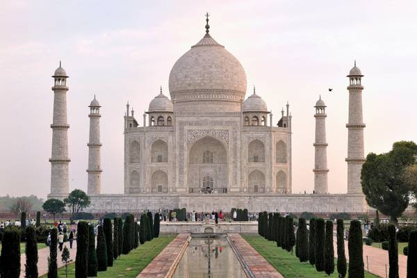 Taj Mahal Sunrise - Agra - India