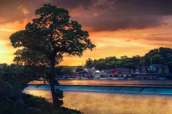 A Philadelphia Sunset