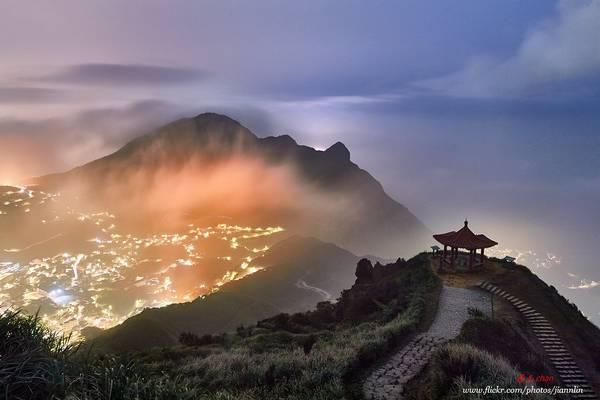 D5C_8876 火燒雞籠  Night of Keelung Mountain
