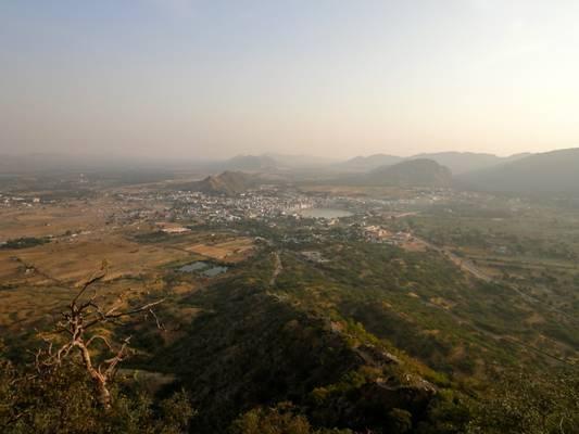 View of Pushkar