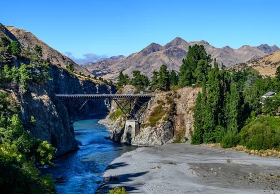 The Bridge to Hanmer Springs
