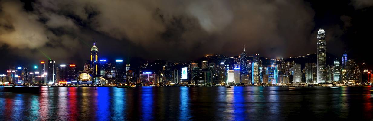 Central and Victoria Harbour from Tsim Sha Tsui
