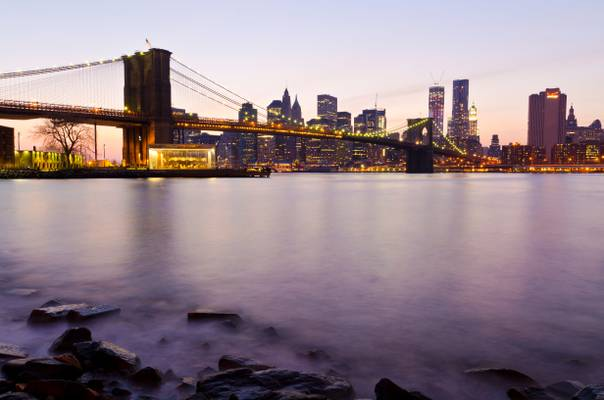 I would rather be the man who bought the Brooklyn Bridge than the man who sold it...
