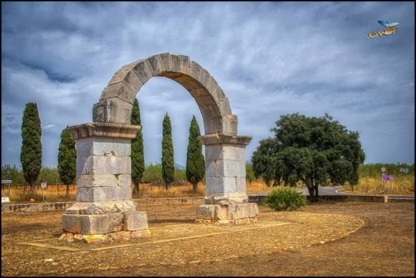 l'Arc Romà de Cabanes