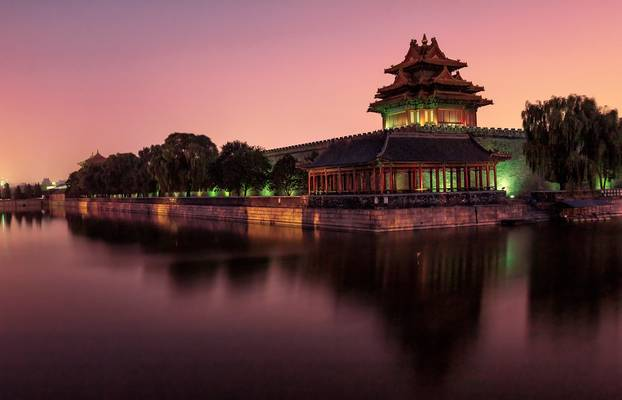 Corner Tower of the Forbidden City  故宫角楼