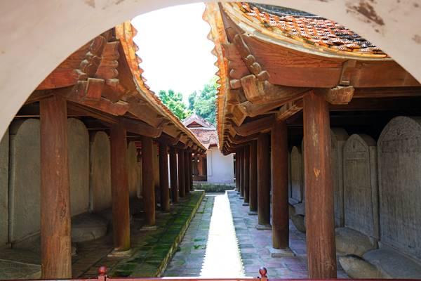 Turtle Steles, Temple of Literature