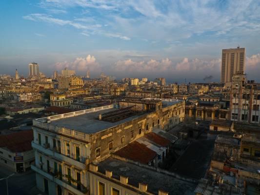 El primer día por la maňana en Habana