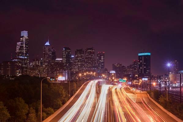 Philadelphia from Spring Garden Street