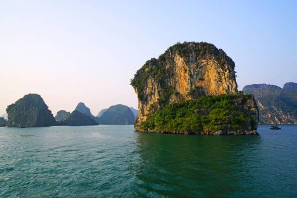 Thousands islets of Ha Long Bay, Vietnam