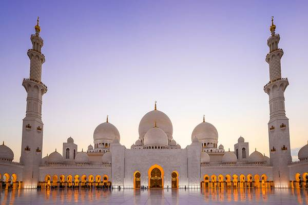 Grand Mosque Sheikh Al Zayed Abu Dhabi 08