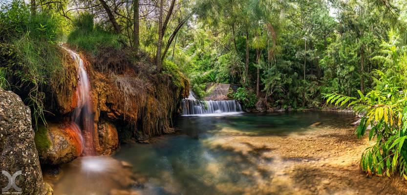 The old Thermal Bath of Cilaos - Reunion Island