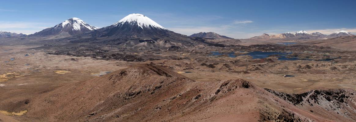 Parinacota from Cerro Guaneguane