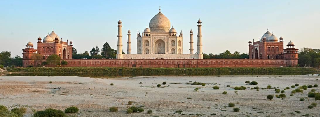 Taj Mahal Sunset, Agra - India